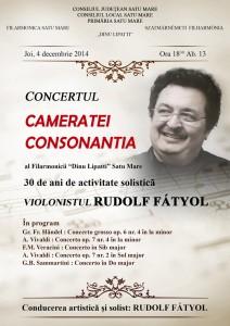 concert 4 decembrie
