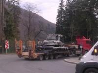 Circulație întreruptă între Huta Certeze și Sighetu Marmației