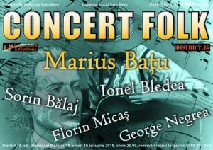 Concert folk Batu