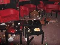 Local din Bixad distrus de un bărbat beat