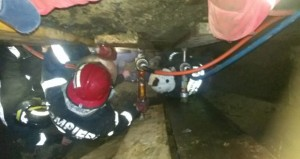 pompieri canalizare
