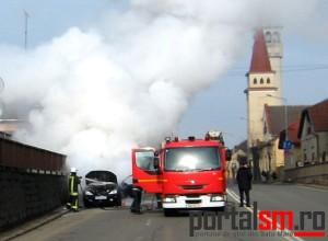 incendiu masina Octavin Goga