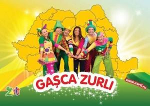 Gasca Zurli cucereste Romania