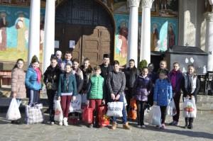 Vizita familii sarace Calinesti-Oas