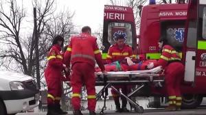 Accident grav între Satu Mare și Dorolț. O victimă a ajuns la spital