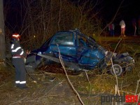 Accident la pădurea Noroieni (FOTO&VIDEO)