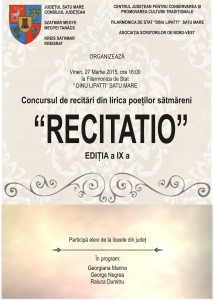 afis recitatio jpg vegleges