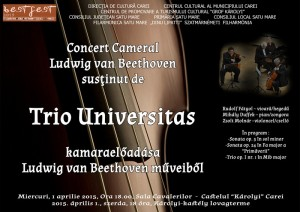 afis trio universitas Beethoven