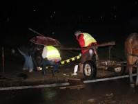 Două persoane rănite într-un accident rutier în localitatea Racșa