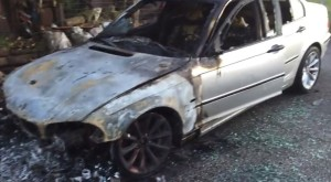 masina incendiata roma 11