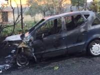 masina incendiata roma 13