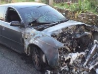 masina incendiata roma 14