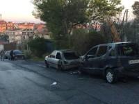 masina incendiata roma