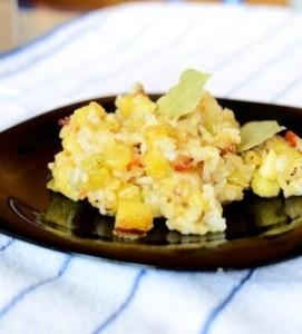 orez cu cartofi