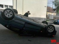 accident str. Cosbuc (2)