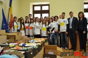 ajutoare Ucraina, liceul Doamna Stanca (1)