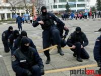 demonstratii jandarmi, Scoala Altfel (6)