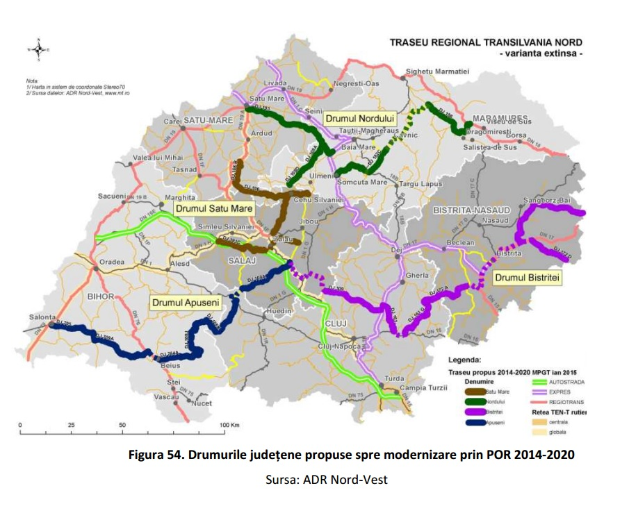 harta drumuri modernizare adrnv