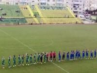 Stadion aproape gol la Mioveni. Olimpia în albastru complet