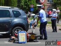 accident masina Primarie (1)