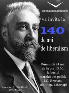 afis bratianu liberlism