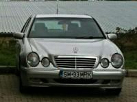 UPDATE: Mercedes furat din centrul municipiului Satu Mare (FOTO)