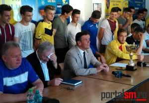 Adrian Ştef acuză PDL şi UDMR că blochează dezvoltarea fotbalului sătmărean