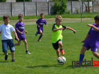 Copii de la Olimpia s-a distrat la o miuta pe terenul Olimpia