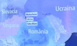 harta ucraina satu mare