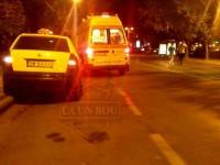 accident taxi satu mare atacat (1)