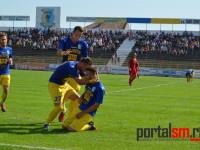 Bucuria de la golul lui Faur, care e egalat la 1-1