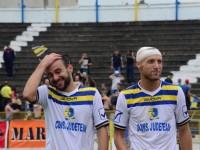 Faur si Heil, bucurosi dupa victoria in fata celor de la FC Bihor