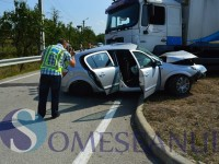 accident bunesti, tir unicarm (1)