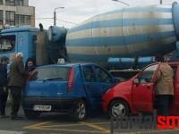 accident sens giratoriu Piata Romana (4)