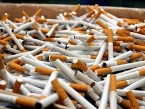 Un tânăr prins cu țigări de contrabandă într-o stație PECO