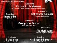 Afis Microstagiune de teatru