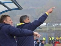 Dragomir si Csik au strigat indicatii catre jucatorii de pe teren pe toata durata partidei