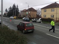 accident strada Aurel Vlaicu (1)