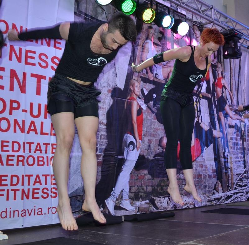 Fitness Scandinavia 2015, București. Ilyes Ilona, Andrei Chirilă