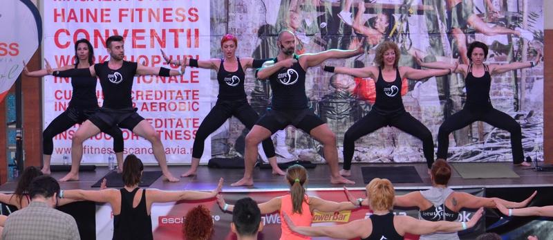 Fitness Scandinavia 2015, București. Camelia Hoitan, Simona Niste, Borsodi Balazs, Ilyes Ilona, Andrei Chirilă, Bianca Bogdan