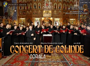 afis concert corala arhanghelii