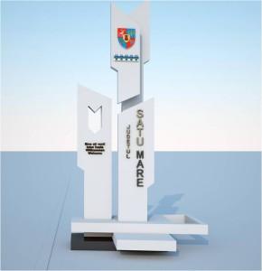 obelisc satu mare