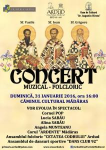 afis concert madaras