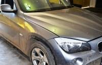 BMW X3 căutat în Suedia, reţinut la Petea