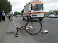 Femeie la volan. A accidentat o biciclistă și a fugit de la fața locului