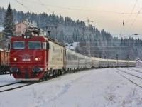 Trenul de București a întârziat două ore. Călătorii, ținuți în frig