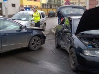 Accident grav produs din neatenție la Satu Mare