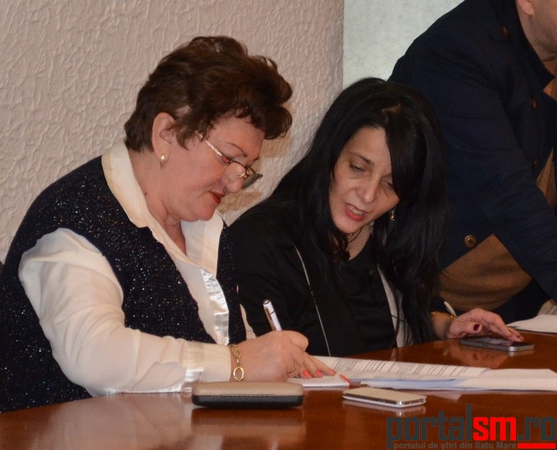 semnare acte aditionale DGASPC Satu Mare 2