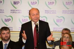 Traian Băsescu a demis conducerea de la Satu Mare. Un senator, numit preşedinte PMP