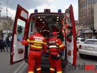 Accident la Satu Mare. O femeie a fost rănită